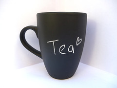 Chalkboard mug (bubbleandmimiltd) Tags: cute london home coffee tea mug chic custom chalkboard