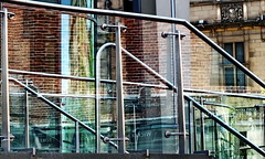 red brick (Harry Halibut) Tags: street red reflection brick glass stairs hotel steel sheffield norfolk stpauls images surrey wicker stainless allrightsreserved baluster mecure sheffieldbuildings colourbysoftwarelaziness imagesofsheffield sheffieldarchitecture 2015andrewpettigrew sheff1505043281