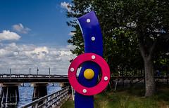 Different View! (BGDL) Tags: sculpture florida bradenton riverwalk weeklytheme geometricshapes nikond7000 afsnikkor18105mm13556g bgdl flickrlounge lightroomcc