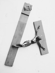 . (Seniju) Tags: cross jesus flip inri