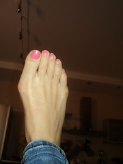 Feet of my korean girl friend (PawelIwaniak) Tags: feet korean bunion bunions