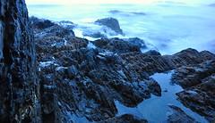 Whites Bay Waves (budd stanley) Tags: longexposure winter newzealand storm waves budd blenheim marlborough whitesbay buddstanley