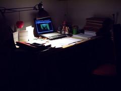 That's where I spend my days (srgpicker) Tags: ikea desk kodak laptop gimp workplace thegimp easyshare cx6200