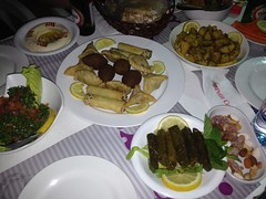 Lebanese food!