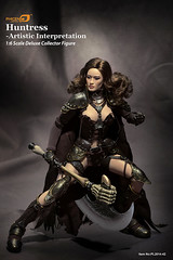 PHICEN PL2014-42 Huntress - 20141108183941130 (Lord Dragon 龍王爺) Tags: hot scale toy doll action figure 16 seamless 12in onesixth phicen