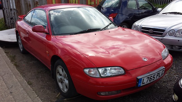 mazda coupe v6 mx6