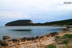 CAPO CACCIA (lella 92) Tags: sardegna nuvole mare estate natura cielo vista terra sassari paesaggi spiaggia alghero roccie capocaccia