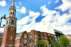 (cassieriley124) Tags: church boston massachusetts newengland steeple fenway brookline bu beaconstreet bostonuniversity