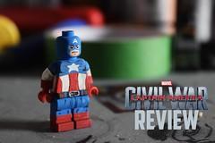 Captain America: Civil War: REVIEW (OutofSpace Customs) Tags: america movie war lego civil captain custom marvel minifigure