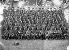 Second Re-inforcements, 50th Battalion, c1916 (State Library of South Australia) Tags: wwi worldwari worldwarone soldiers aif reginaldjohnrudall 27thinfantrybattalion guyspencerpackard