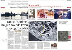 Bunkers aan de Omval in Alkmaar (Regionaal Archief Alkmaar) Tags: bunker ww2 alkmaar wo2 secondworldwar bunkers tweedewereldoorlog