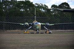 DSC_0931 (LoxPix2) Tags: clouds vintage landscape airport aircraft australia queensland nomad caribou oakey loxpix australianarmyflyingmuseum