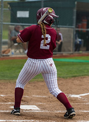 Sierra College Outfielder Bailey Nordquist (02) (davidmoore326) Tags: california ca college sports unitedstates calif sierra playoffs softball solano rocklin cccaa
