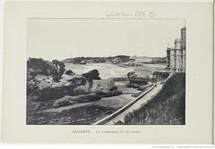 Fasc. 64, f. 9. Biarritz, la passerelle et le phare (Library ABB 2013) Tags: france album bnf franais biarritz nationallibraryoffrance bibliothquenationaledefrance 1890
