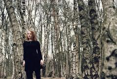 (marlinhelene2) Tags: portrait film girl analog forest self 35mm canon focus superia v 400 manuel 300 xtra fujicolor