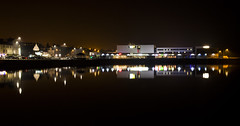 New Brighton Marine Lake (David Chennell - DavidC.Photography) Tags: reflection night resort marinelake wirral merseyside