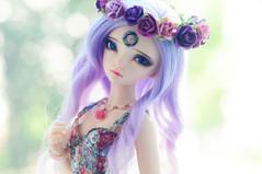 Ms Lotus <3 (Athena Roseanna Tse) Tags: doll lotus bjd fairyland abjd luka balljointeddoll mnf minifee