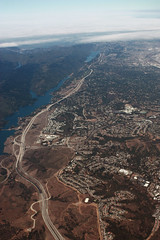 east bay (Jenna Pinkham) Tags: flyover california mountains
