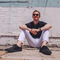 Mark W. (kent_wang) Tags: outfit customer sneaker poloshirt keyhole sunglasses