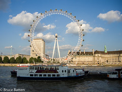 140730 London-02.jpg (Bruce Batten) Tags: trees england plants london buildings boats unitedkingdom vehicles rivers gb trips subjects locations occasions aquariums urbanscenery cloudssky atmosphericphenomena businessresearchtrips
