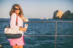 Babe on a Boat (Thomas Hawk) Tags: vacation mexico boat cabo julia fav50 spouse wife bajacalifornia baja cabosanlucas loscabos juliapeterson fav10 fav25 mrsth