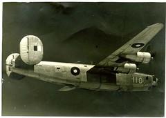 RAAF B24 Liberator A72-110 (Adelaide Archivist) Tags: royalaustralianairforce raaf 7otu liberator wwii a72110