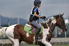 Heels down, ears up - a pony club portrait (Tackshots) Tags: eventing ponyclub crosscountry horsetrials tryon tiec millspring northcarolins