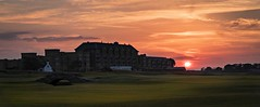 The Clubhouse at Sunset (Stephen Sinclair Photography) Tags: old house st club golf ancient andrews royal course clubhouse randa