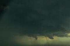 Crappy shot of a tornado (PhotoStorm22) Tags: storm thunderstorm tstorm hail hailstorm tornado wyoming wy cheyenne cloud clouds sky