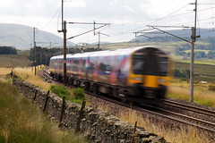 Speed blur (kailhen) Tags: railway speed blur passenger cumbria cumbrian lake district national park