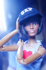 Uhura (imida73) Tags: barbie star trek 50th anniversary uhura