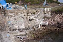 Salinas (Jusotil_1943) Tags: salinas marron asturias escaleras cadenas