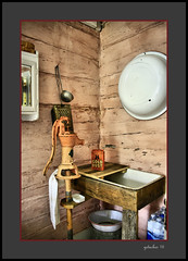 Wash Stand Hanka Homestead (the Gallopping Geezer 3.8 million + views....) Tags: building structure historic historical old antique rural backroads gravelroad farm dwelling home house village hankahomestead museum display park canon 5d3 tamron 28300 geezer 2016