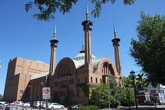 Irem Temple, Wilkes-Barre, PA (joseph a) Tags: wilkesbarre pennsylvania iremtemple fraternal shriners moorishrevival