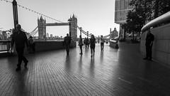 London in black and white (n.karpiewska) Tags: london londyn black white street photo tower bridge pentax kx people greyscale monochrome bw blackandwhite walk boulevard riverside river thames tamiza light shadows panoramic wide angle tourists trip