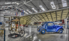 The Shuttleworth Collection 10 (Darwinsgift) Tags: shuttleworth collection old warden bedfordshire oldest flying plane aircraft bleriot vintage antique aeroplane museum hdr photomatix nikkor 20mm f18 g nikon d810 xi