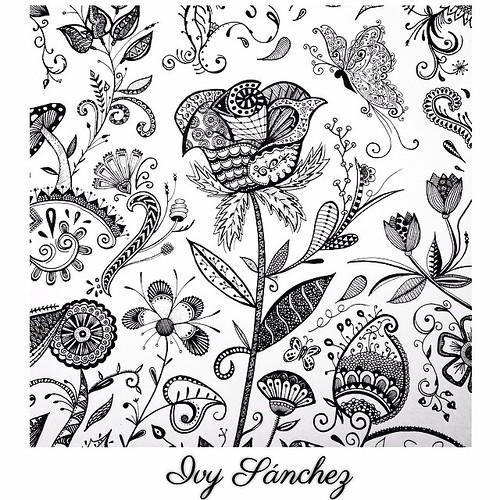 Art Arte Artist Artoftheday Artwork Flowers Zentangle Ink