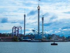 Gröna Lund (ThemeParkMedia) Tags: park city lund fall fun eclipse insane waterfront sweden stockholm roller theme rides twister attractions coasters gröna jetline thrilling fritt