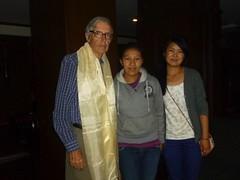 Jim and Nawang and Dawa Pasang