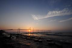 sunset (jen-kai) Tags: life travel sunset sea sun nikon taiwan sigma      2015 d90