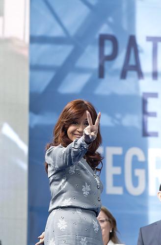 Cristina Kirchner, From FlickrPhotos