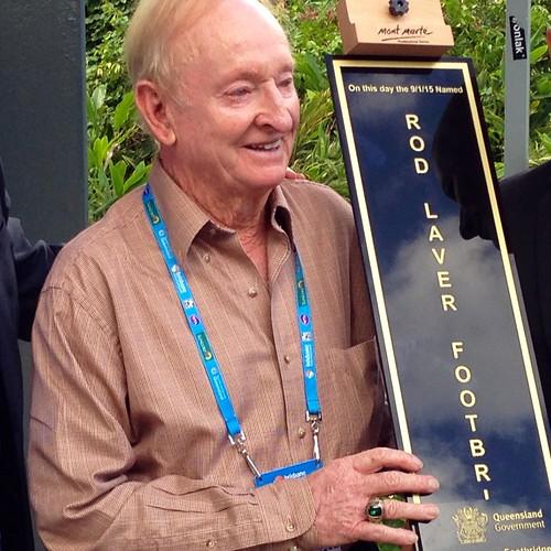 Rod Laver - Tennis 'great', Rod Laver