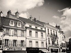 Antiquites (BigBean) Tags: street france place stores rue beaune beaunefrancebuildings