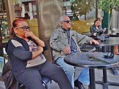 2015-05-30  Paris - Starbucks - 21 Rue des Petits Carreaux (P.K. - Paris) Tags: street people paris caf french terrace candid may terrasse sidewalk mai 2015