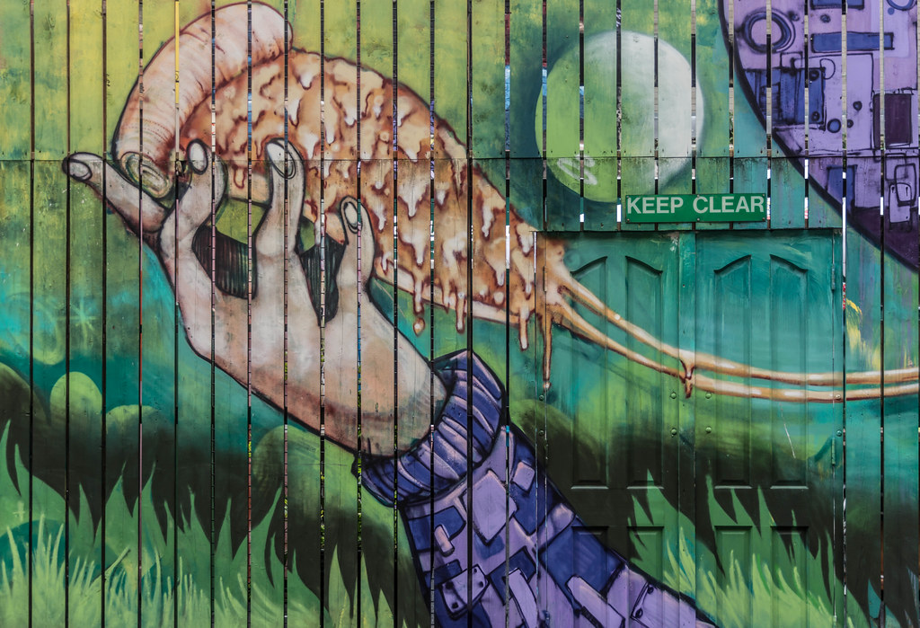 Street Art In Belfast [May 2015] REF-104699