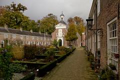 Breda - Begijnhof (grotevriendelijkereus) Tags: park city house holland home netherlands court square town community nederland courtyard center historic breda plein