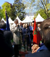 09.05.2016 Journes franco-marocaines  Aix-les-Bains (maec_maroc) Tags: les v maroc franco feu aix mohamed bains journes diplomatie maec marocaines