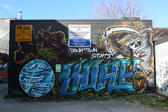 St. Catharines Street Art (jmaxtours) Tags: streetart ontario graffiti stcatharines grimreaper graffitialley stcatharinesontario stcatharinesstreetart