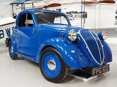 Fiat Topolino, 1937 (Megashorts) Tags: uk blue england history museum fiat bedfordshire olympus pro shuttleworth f28 omd 1937 topolino em10 shuttleworthcollection mzd oldwarden 1240mm