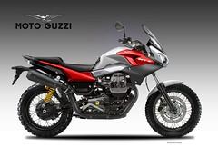 MOTO GUZZI V9  NTX (obiboi) Tags: design motoguzzi obiboi